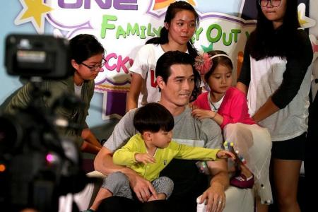 Reality TV star Ricky Kim outshone by his cute son Tae-oh