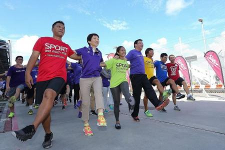 GetActive! Singapore to promote active sporting lifestyle