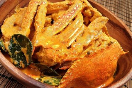 Make your own flower crab curry