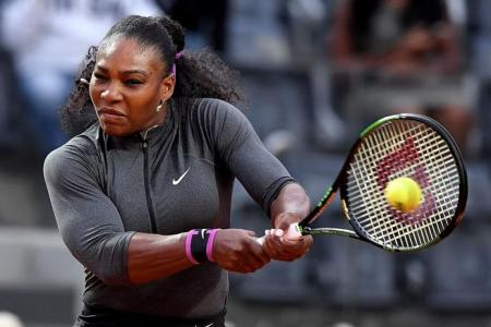 Serena's the woman to beat in French Open, says Pine