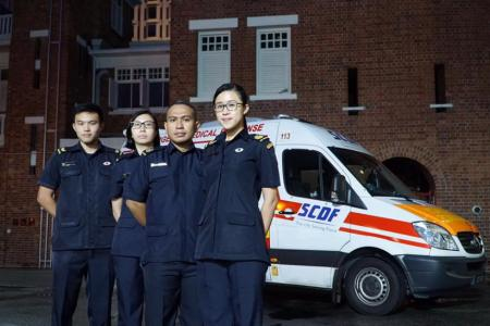 PM Lee thanks SCDF team who 'kept their cool' in helping Heng Swee Keat