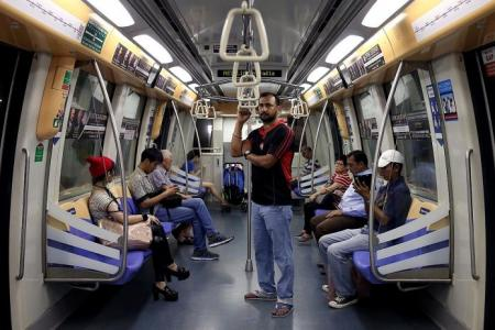Why I don't sit on the MRT