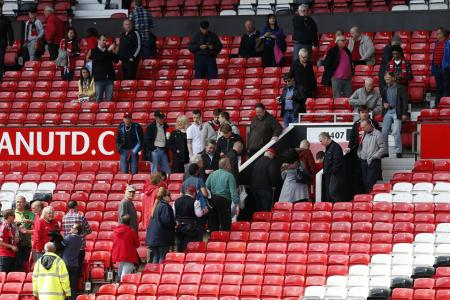 Man Utd game abandoned after suspect package found