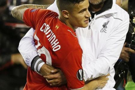 Coutinho: Klopp instils belief in Reds