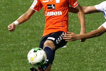 Albirex star Inui getting back to best form