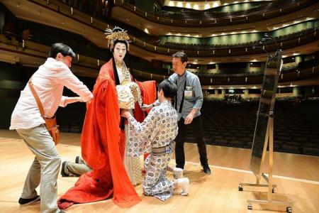Kabuki musical performed outside Japan for first time