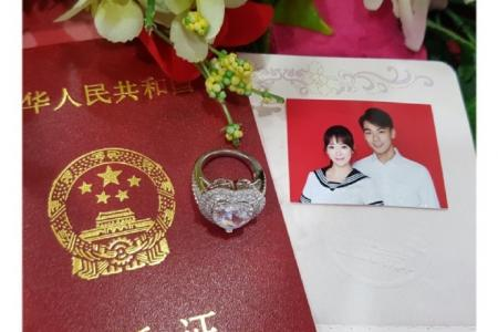 Dai Xiangyu says bride was so moved, she cried