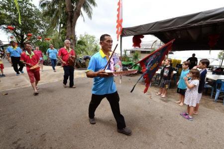 Devotees flock to Pulau Ubin for Tua Pek Kong's birthday