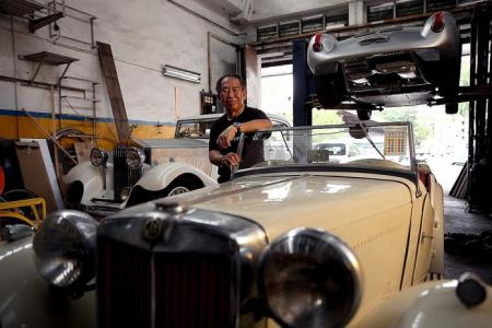 The man who restored Hard Rock Cafe's iconic Cadillac