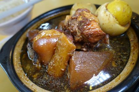 Wonder stew that is black vinegar trotters