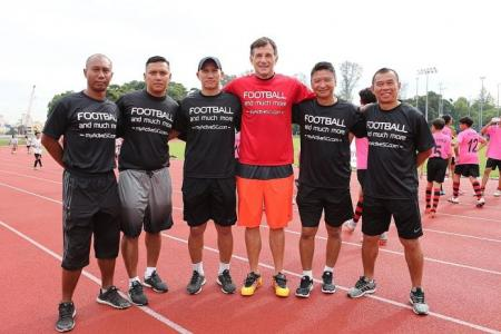 Former S.League coaches to train kids at ActiveSG academy