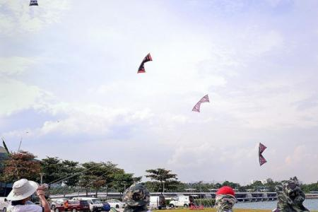 Temporary ban on aerial activities