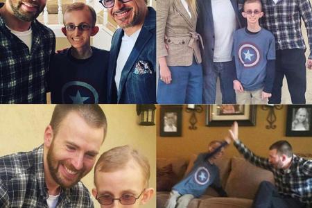 Paltrow helps Avengers fan to meet his idols