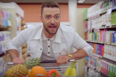Justin Timberlake's gone all eccentric!