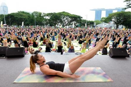 Pilates guru was asked: 'Why are you fat?'