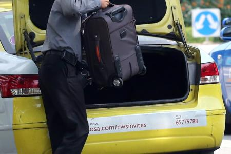 Man jailed for punching cabby over luggage