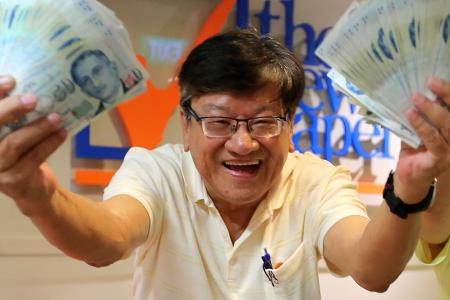 Reader who won $6,000 in TNP contest hoping to strike again