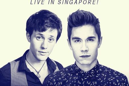 Win Sam Tsui and Kurt Hugo Schneider concert tickets