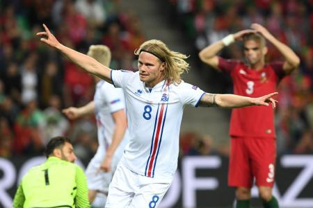 Bjarnason gives Iceland an historic point