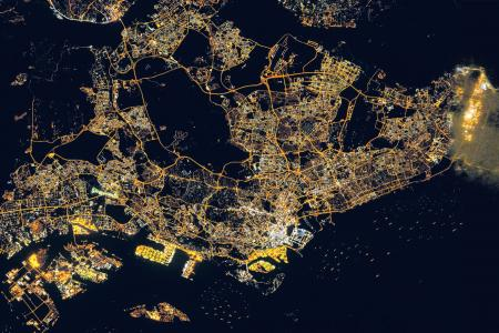 Singapore has most light pollution in the world