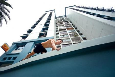 Parkour mum: 'Fear is just in the mind'