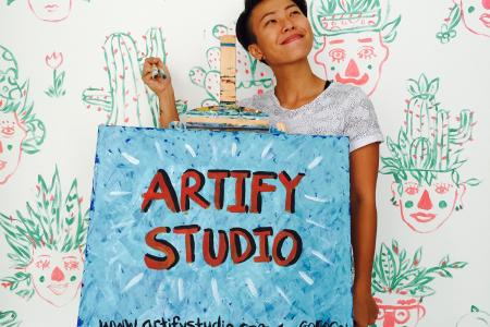 Art is not a luxury, it's for everyone