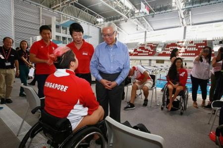 Swimming, equestrian can expect good Paralympics