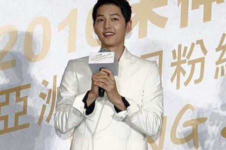 Singapore students see Korean actor at fan meet in Taiwan