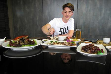 Celeb Chow with Greyson Chance