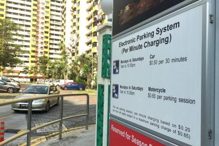 Parking charges to go up from Dec 1