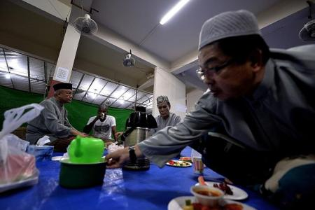 Temporary void deck prayer spaces a boon for Muslims