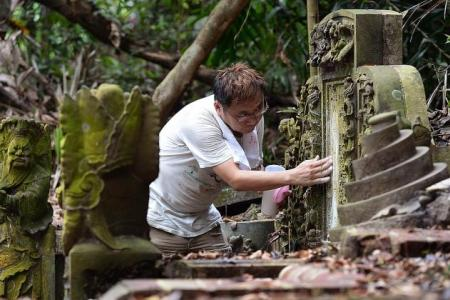 Singapore's own tomb whisperer