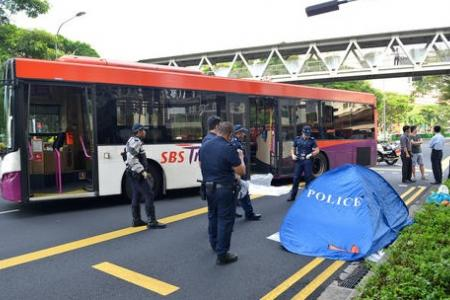 Elderly man dies after bus hits him in Toa Payoh