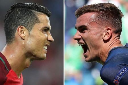 Griezmann v Ronaldo - a fantastic final showdown