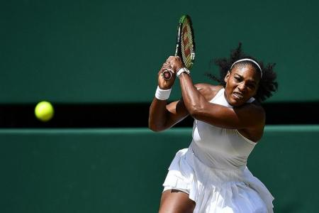 Serena's at favourite surface, motivated