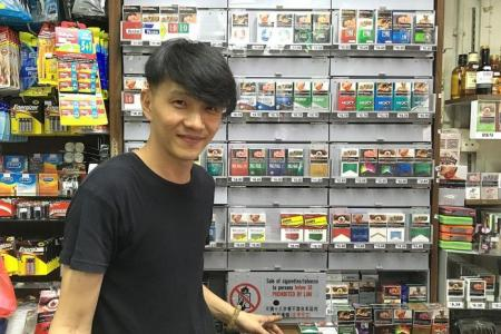 Minors try all kinds of tricks to buy cigarettes, but...