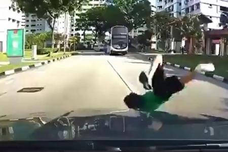 Jurong West schoolboy hit by car after road dash