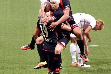 TNP League Cup: DPMM blast four in second half