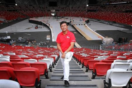 Preparing National Stadium for NDP after 10 years