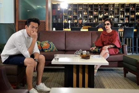Zoe Tay more interested in getting attention from her sons