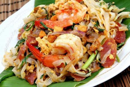Penang-style char kway teow