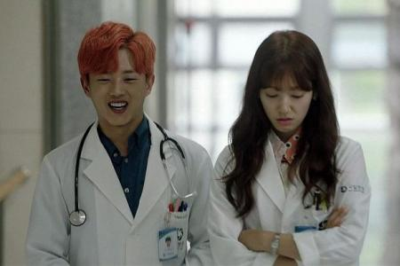 Kim Min Seok goes from soldier to doctor