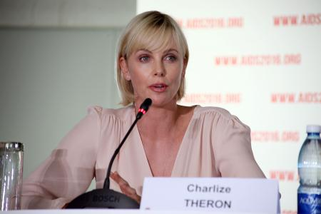 Charlize Theron speaks out about Aids