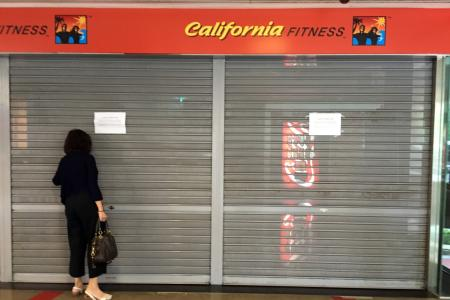 California Fitness closed... what now for its members?