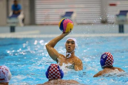 Singapore edge out Indonesia to water polo gold