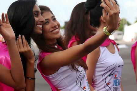 New Face girls take part in Shape Run
