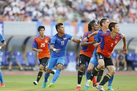 Much work for Sundram after 3-0 loss to Albirex