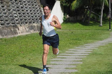 73-year-old and medal contender