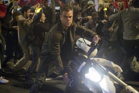 Movie Date: Jason Bourne (PG13)