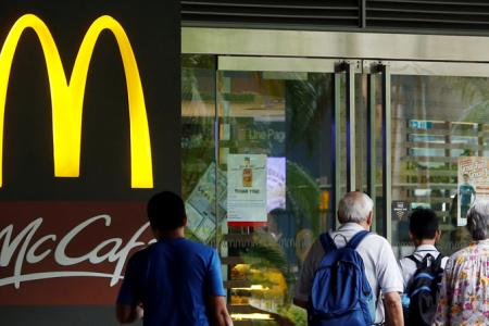McDonald's to franchise ops in Singapore